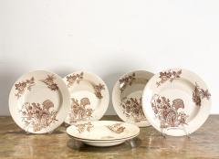 Set of 6 English Soup Bowls - 1512560