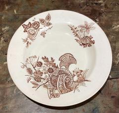 Set of 6 English Soup Bowls - 1512564