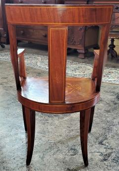 Set of 6 French Empire Marquetry Chairs - 2058011