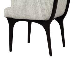 Set of 6 Modern Grey Dining Chairs - 1570012