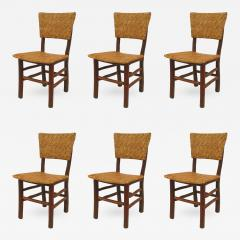 Set of 6 Rustic Old Hickory Side Chairs - 551058