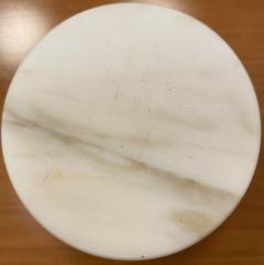 Set of 6 Short Carrara Marble Glasses Italy - 1591332
