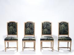 Set of 8 Louis XV style chairs 1950 s - 985672