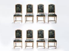 Set of 8 Louis XV style chairs 1950 s - 985673