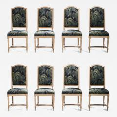 Set of 8 Louis XV style chairs 1950 s - 988062