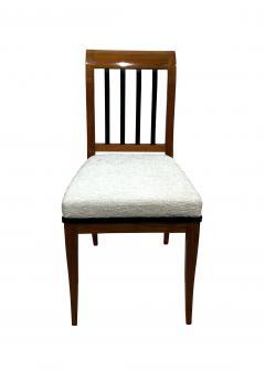 Set of 8 Neoclassical Biedermeier Chairs Walnut South Germany circa 1825 - 2124303