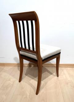 Set of 8 Neoclassical Biedermeier Chairs Walnut South Germany circa 1825 - 2124305