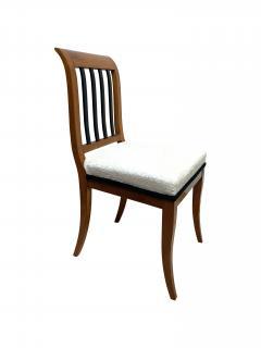Set of 8 Neoclassical Biedermeier Chairs Walnut South Germany circa 1825 - 2124306