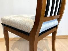 Set of 8 Neoclassical Biedermeier Chairs Walnut South Germany circa 1825 - 2124308