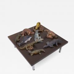 Set of 9 Biology Animal Sculptures 1940s - 1995193