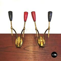 Set of Brass applique 1950s - 2034655