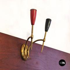 Set of Brass applique 1950s - 2034658
