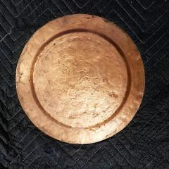Set of Eight Arts Crafts Copper Under Plates - 1383102