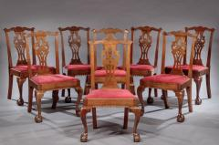 Set of Eight Chippendale Side Chairs - 804409