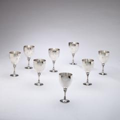 Set of Eight Georg Jensen Sterling Silver Goblet No 532A - 76328