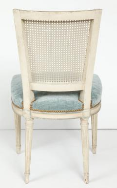 Set of Eight Louis XVI Style Caned Back Dining Chairs - 1100183