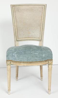 Set of Eight Louis XVI Style Caned Back Dining Chairs - 1100184