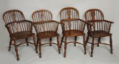 Set of Eight Windsor Chairs - 655932