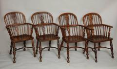 Set of Eight Windsor Chairs - 655933