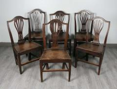 Set of English Country Chairs - 1341254