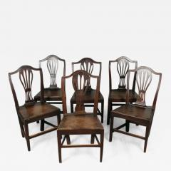 Set of English Country Chairs - 1344639