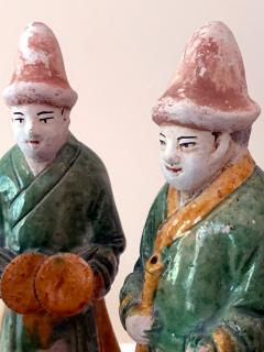 Set of Five Stoneware Tomb Figurines of Musician Ming Dynasty - 1510564