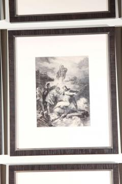 Set of Forty Framed German Art Plate Engravings - 389236