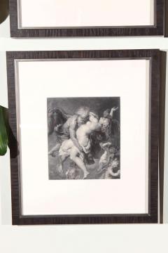 Set of Forty Framed German Art Plate Engravings - 389238