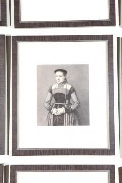 Set of Forty Framed German Art Plate Engravings - 389239