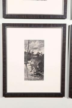 Set of Forty Framed German Art Plate Engravings - 389240