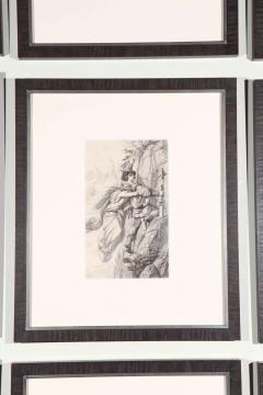 Set of Forty Framed German Art Plate Engravings - 389241