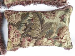Set of Four 18th Century French Tapestry Cushions - 979792