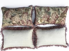 Set of Four 18th Century French Tapestry Cushions - 979796