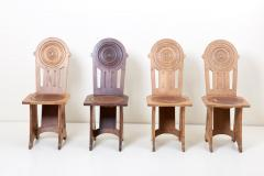 Set of Four Avantgarde Art Deco Chairs France 1930s - 1045001