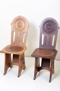 Set of Four Avantgarde Art Deco Chairs France 1930s - 1045005