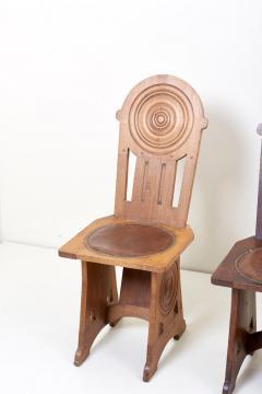 Set of Four Avantgarde Art Deco Chairs France 1930s - 1045007
