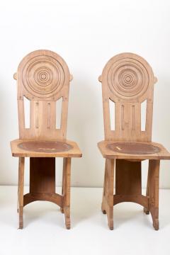 Set of Four Avantgarde Art Deco Chairs France 1930s - 1045008