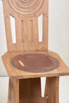 Set of Four Avantgarde Art Deco Chairs France 1930s - 1045009