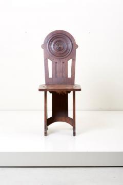 Set of Four Avantgarde Art Deco Chairs France 1930s - 1045012