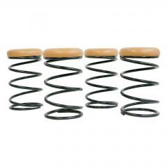 Set of Four Coil Spring Bar Stools - 1732570