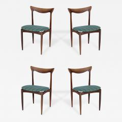 Danish Dining Chair set of four danish dining chairs