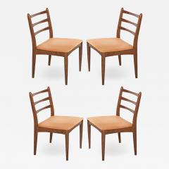 Set of Four Danish Modern Maple Side Chairs - 1815923