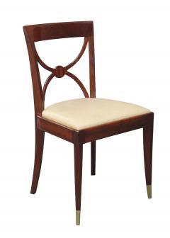 Set of Four De Coene Fr res Art Deco Side Chairs - 896148