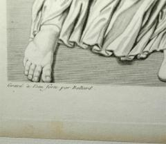 Set of Four Early 19th century Prints of the Louvre by Baltard - 924004