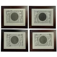 Set of Four Early 19th century Prints of the Louvre by Baltard - 924009