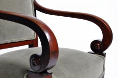 Set of Four Empire Period Armchairs - 666522