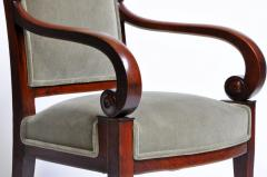 Set of Four Empire Period Armchairs - 666523