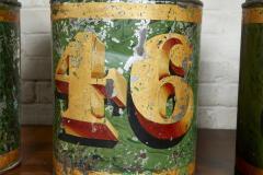 Set of Four English Tea Tins - 1957934