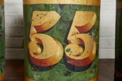 Set of Four English Tea Tins - 1957935