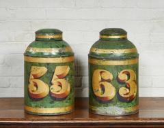 Set of Four English Tea Tins - 1957943